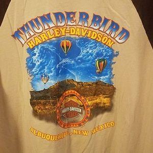 Thunderbird Harley Davidson Balloon Fiesta T shirt